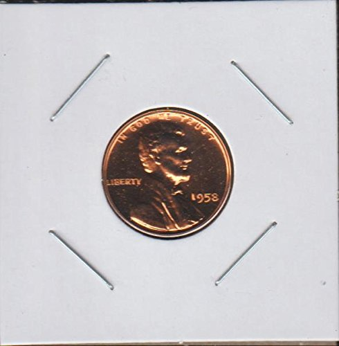 1958 Lincoln Wheat (1909-1958) Penny Superb Gem Proof US Mint