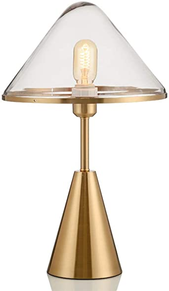 Lámpara de mesa Lámpara de mesa dorada E27 Lámpara de escritorio ...