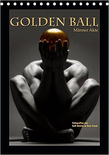 Golden Ball Männer Akte Tischkalender 2019 DIN A5 hoch