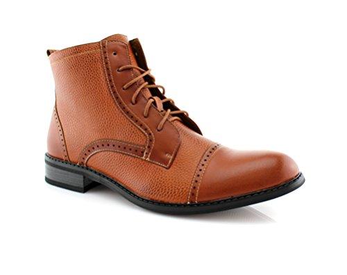 Boots 806013 Brown Lace Toe Cap Men's Dress up Aldo Ferro Brown 6q844P