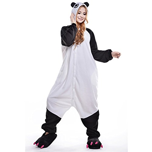 Nuit Vêtements Onesie Amurleopard L Déguisement Panda Pingouin Pyjama Unisexe Combinaison Costume Animal Adulte xSxY0Fqwp