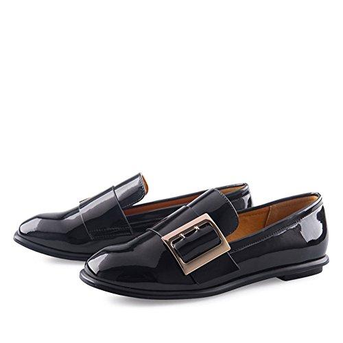 baja De Zapato Otoño las Finas Zapatos Cuadrado Señoras B Casuales 1TvvWtqw