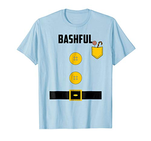 Cute Bashful Halloween Group Matching Costume T Shirt -