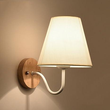KMYX Caldo Paralume In Tessuto Paralume Applique Moderna Lampada Da ...