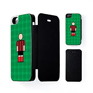 Bournemouth Black Flip Case for Apple? iPhone 5 / 5s by Blunt Football + FREE Crystal Clear Screen Protector