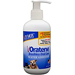 Pet King Brands Zymox Water Additive Oral Solution, 8-Ounce Pump Bottle