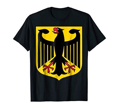 - Deutschland Eagle Crest T-shirt