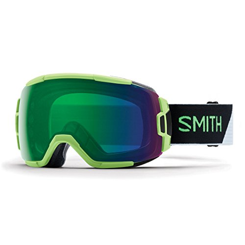SMITH Vice Snow Goggles Reactor Split/Cpegm Green One - Goggles 2016 Vice Smith