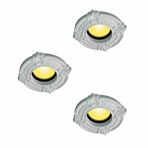 3 Spot Light Trim Medallions 6