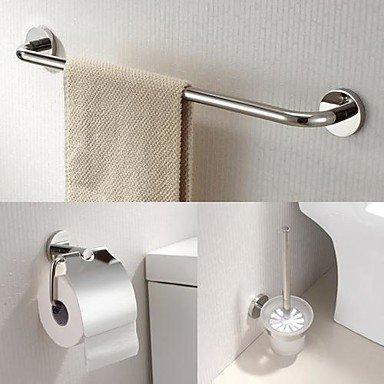 Desy - Juego de accesorios de baño toallero de estante y ...