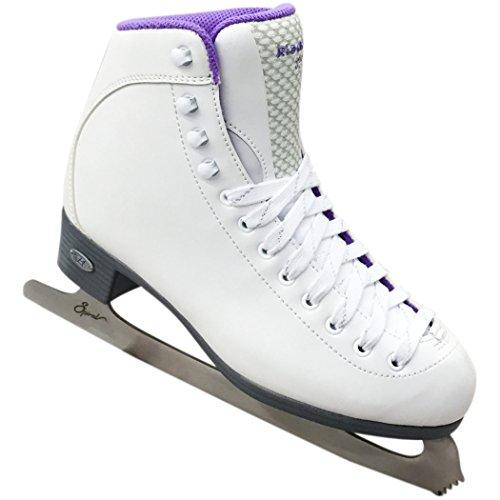 Riedell 18 Sparkle Ladies Figure Skates Medium 2