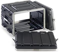 Stagg ABS-6U Case for 6-Unit Rack - Black