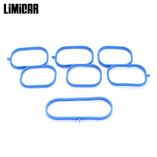 LIMICAR Upper Intake Plenum Gasket Set MS96943 Compatible with 2005-2015 Nissan Frontier Xterra 2005-2012 Nissan Pathfinder 2009-2011 Suzuki Equator 2012-2014 Nissan NV1500 NV2500 ()