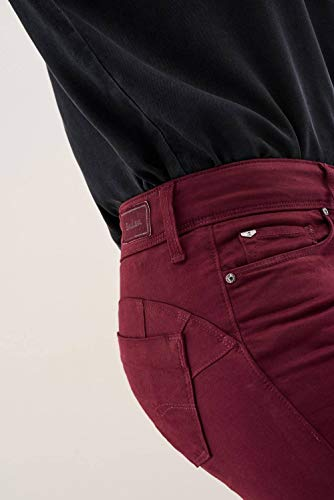 De Color Salsa Wonder Pantalones Rosa Skinny Oqw1twI