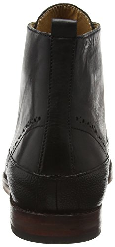 Hudson London Herren Penley Klassische Stiefel Schwarz (Black)