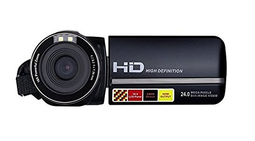 GordVE GP15 2.7 inch TFT LCD HD Mini Digital Camera,LCD Screen Digital Video Camcorder Night Vision 24MP Camera HD Digital Camera by GordVE