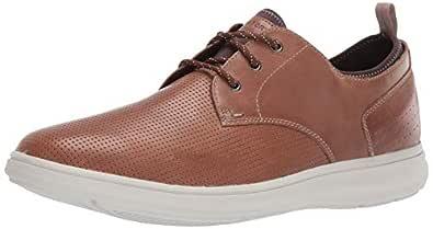 ROCKPORT Mens Zaden Plain Toe Oxford Brown Size: 6.5 W US