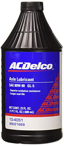 (ACDelco 10-4051 GL-5 80W-90 Axle Gear Oil - 23 oz)