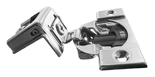 "Blum B039C355B.20 1-1/4"" Overlay Soft Close Cabinet Hinge (10 Pack), Nickel Plated Steel (Pack of 10)"