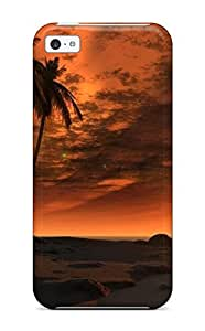 Best High-end Case Cover Protector For Iphone 5c(scenery)