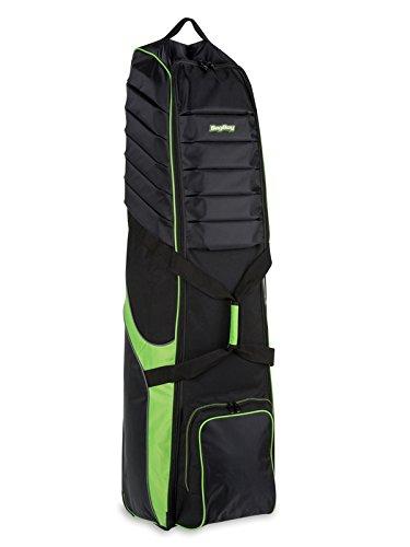 Bag Boy T-750 Wheeled Travel Cover Black/Lime (Certified Refurbished)