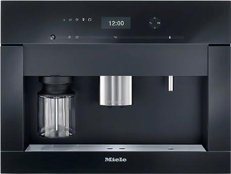 Miele CVA 6401 obsw - Cafetera (Integrado, Totalmente automática, Espresso machine, 2, 15, Granos de café, De café molido, Negro): Amazon.es: Hogar