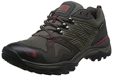 The North Face Hedgehog Fastpack GTX Hiking Shoe - Men's Coffee Brown/Rosewood Red, 7.0