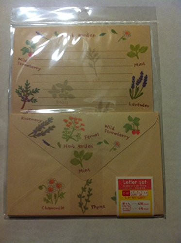 12 Cute Lovely Kawaii Japanese Design Writing Stationery Paper with 6 Envelopes