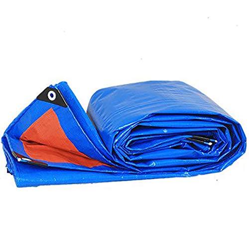 パンチマダム元のGUOWEI-pengbu ターポリン 日焼け止め 防水 不凍液 柔らかい 光 屋外 (色 : 青, サイズ さいず : 1.8x2.8m)