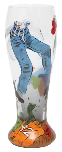 Lolita Hand Painted Pilsner Glass, Dirty Laundry