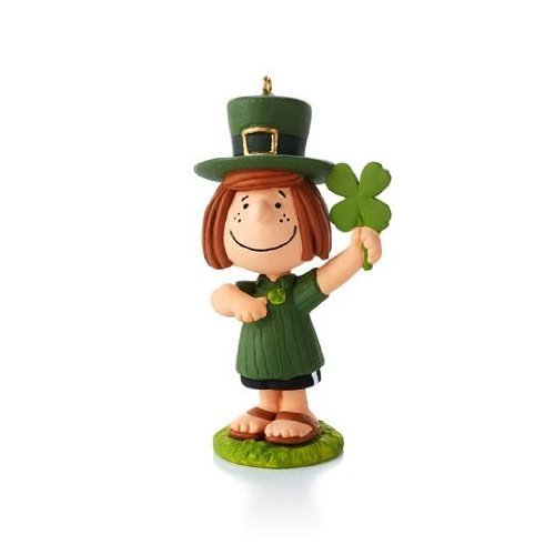 (Happiness Is Peanuts All Year Long - #8 -Peppermint Patty - St Patrick's Day by Hallmark)