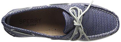 Sperry Top-sider Dames A / O Two-eye Bootschoenstreep Slangen Marine
