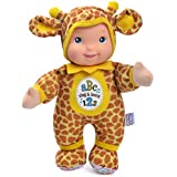 """Baby's First Giraffe Sing & Learn 11"""" Soft Body Machine Washable Singing Baby Doll for Boys and Girls 12 Months+"""