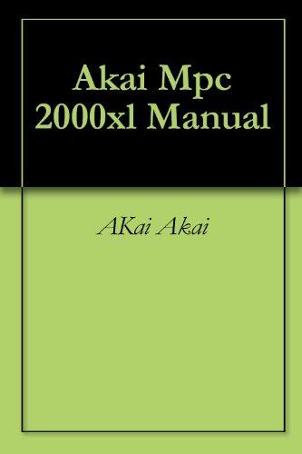 Akai Mpc 2000xl Manual