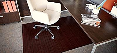 Anji Mountain Bamboo Roll-Up Chairmat without Lip