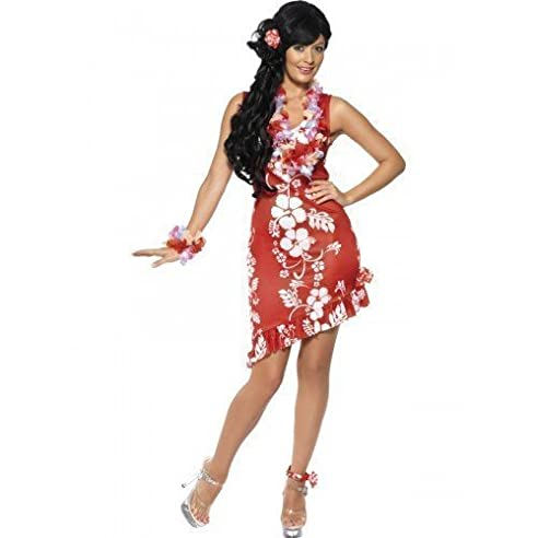 Damen Verkleidung Sexy Hawaii Hula Mädchen Sommer ...