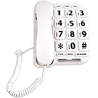 Easy Read Large Button Telephone For Desk Or Wall w/ Hands Free Speakerphone