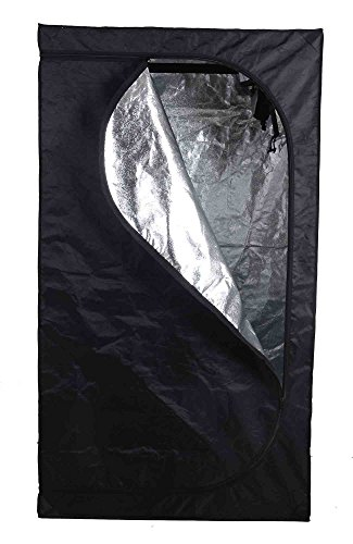 GR Noah Hydroponic Water Resistant Horticulture Twin Grow Tents for Indoor Plant Growing 39.4''x23.6''x78.7'' by G&R