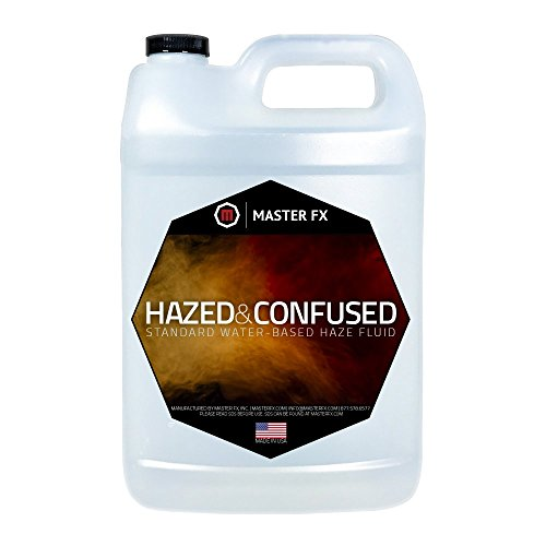 Standard Fog Fluid - Hazed and Confused Standard Water-Based Haze Fluid - 1 Gallon