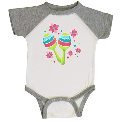 inktastic - Maracas for Cinco Infant Creeper 24 Months White and Heather 34fa3