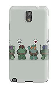 High-quality Durable Protection Case For Galaxy Note 3(teenage Mutant Ninja Turtles)
