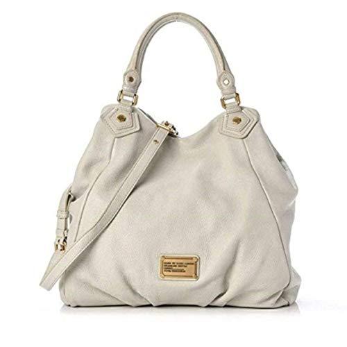 Marc by Marc Jacobs Classic Q Fran Leather Bag, Bone