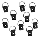MagiDeal 10Pcs Kayak D Rings Outfitting For Boat Canoe Kayak Accessories