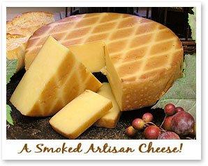 Cheese Gouda Naturally Smoked 5 Lb Half Wheel