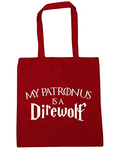 Beach Is Direwolf 10 My Tote Bag Patronus Classic x38cm Gym 42cm HippoWarehouse A Shopping Red litres HE8wSnqwF