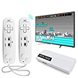 Peny Classic Retro Video Game Consoles Built-in 620 games Wireless Handheld Game Player (AV Out Cable)