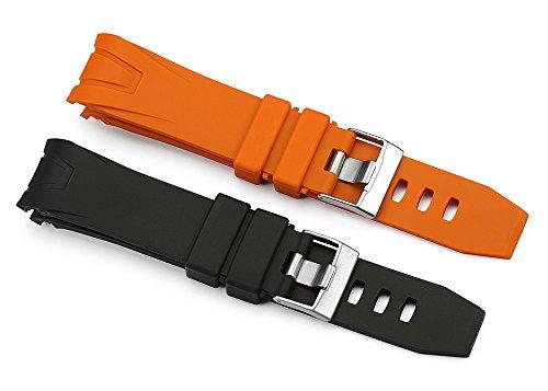 22mm-black-orange-rubber-watch-band-waterproof-strap-for-omega-seamaster-planet-ocean