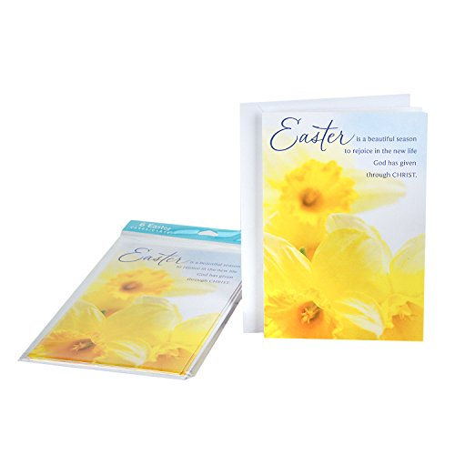 DaySpring Easter Greeting Cards (Beauty of God's Love, 6 Cards and 6 Envelopes)