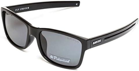 黒 FLYS(ブラックフライズ) FLY CRUISER(フライクルーザー) S黒-SmokePOL(シャイニーブラック-スモーク) 偏光レンズ