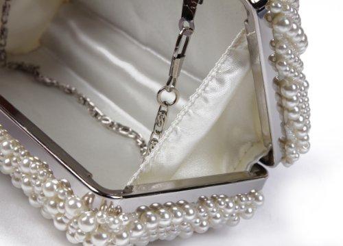 champagne Perle Femmes De Damara Soirée Sac Etui Pour npgqt0gw